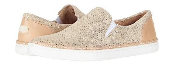 UGG Australia Adley Perf Stardust Gold Sneaker / Schuh Damengrößen 5-11 / NEU!