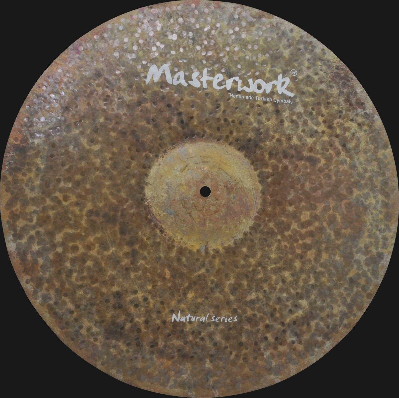 Masterwork Cymbals Natural Series 18-inch Natural  Dark Ride