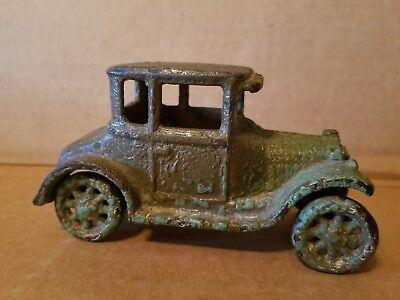 Collezione Qui 1920's Arcade Ghisa Modello T Ford Coupe, Originale Vintage Auto Giocattolo