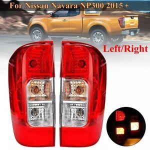 Ruecklicht-fuer-Nissan-Navara-NP300-D23-2015-2019-Mit-Kabelbaum-ein-Paar