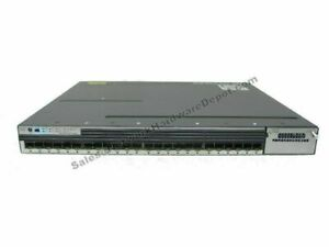 1 Year Warranty Cisco WS-C3750X-24T-L 24-Port Gigabit 3750X Switch w// AC Power