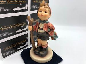 Hummel-Figurine-760-IN-Die-Wide-World-5-1-2in-1-Choice-Top-Zustand