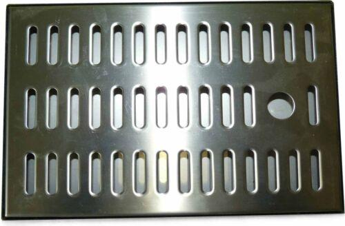 TROPFSCHALE AUS EDELSTAHL 250x160x 20mm TROPFBLECH ABTROPFBLECH