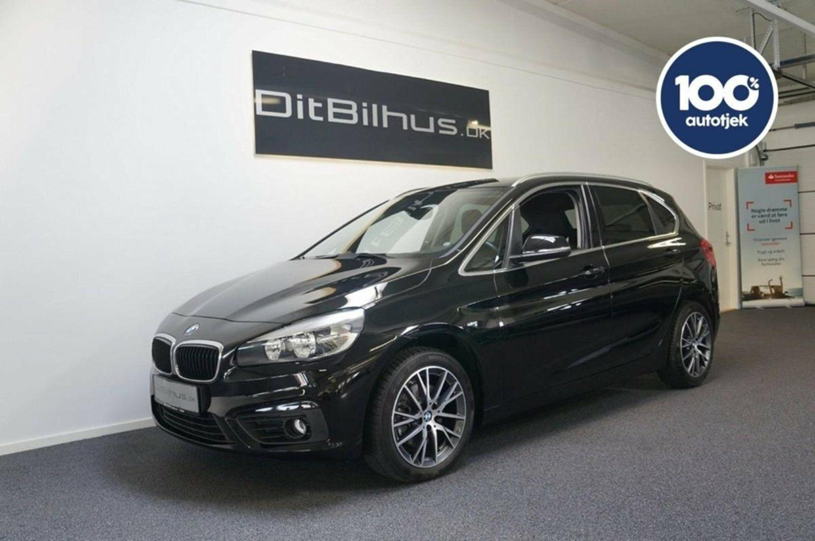 BMW 218i 1,5 Active Tourer Advantage 5d - 248.888 kr.