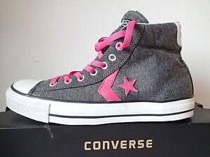 CONVERSE ALL STAR STAR PLYR EV MID CHARCOAL 118776 N.42 grigio fucsia medie