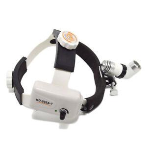 NSKI LED Dental Surgical Head Light Lamp Headlight Economic KD-202A-1 Clip-on Type