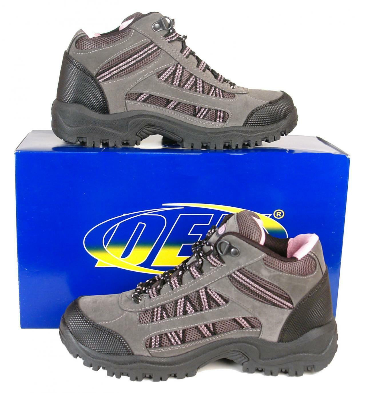 Womens / Ladies New Hiking Walking Boots Size UK 3 4 5 6 7 8 FREE SHIPPING