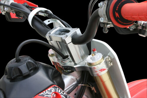 Zeta Lower Bar Clamp Risers for Fat Bars 40mm Height