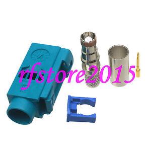 1pce Connector miniUHF female jack crimp RG58 RG142 LMR195 RG400 RF COAXIAL