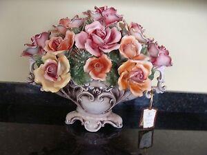 Vintage Large Capodimonte Flower Floral Centerpiece Ebay,Spider Plants Roots