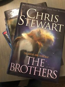 Great-and-Terrible-The-Brothers-Vol-1-6-by-Chris-Stewart-EMP-LDS-Hardcover