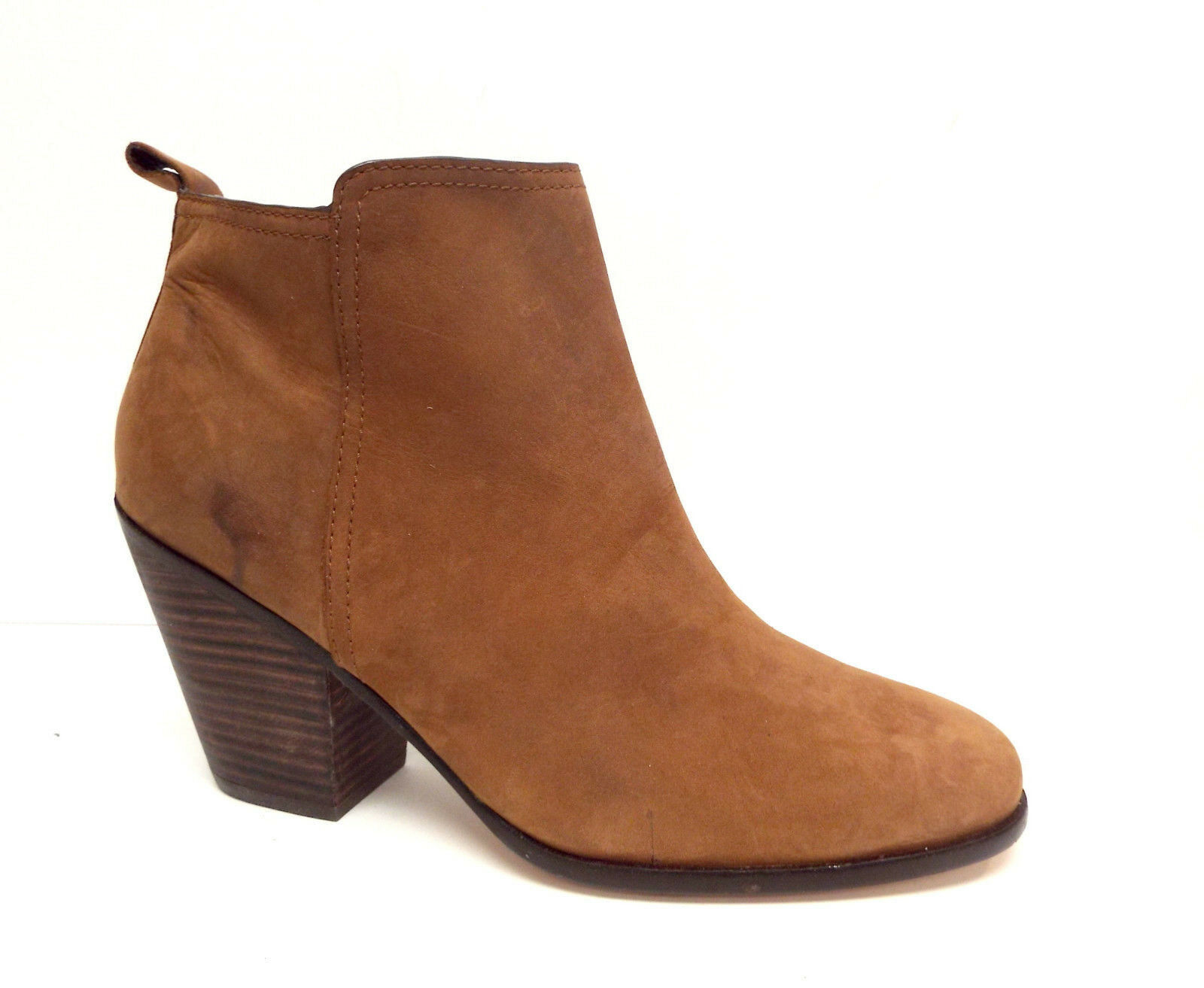 New COLE HAAN Size 11 CHESNEY Chestnut Brown Ankle Boots