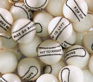 """850 LIGHTNING BOLTS Dubble Bubble SOUR GUMBALLS 24mm//nom.1/"""" gum balls candy vend"""