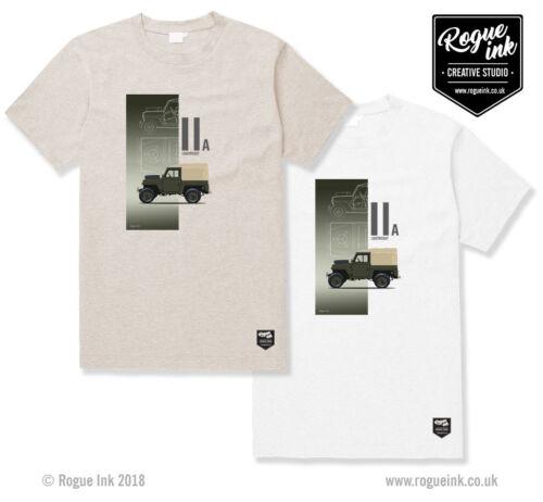 Land Rover Series 2A Lightweight T-Shirt Illustration 100/% Cotton T-Shirt 11A