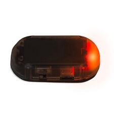 Fake Solar Car Alarm Led Light Security System Warning Theft Flash Blinking Abs