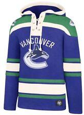 e1cb5c7b85f 47 Forty Seven Brand Vancouver Canucks NHL Lacer Hoody Royal Jersey Kit