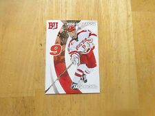 Jack Eichel 2014-15 Boston University Pepsi College Card, Sabres 2015 1st Pick