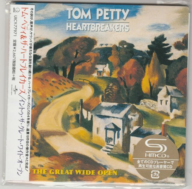 Into the Great Wide Open Tom Petty & the Heartbreakers Japan Import SHM-CD New