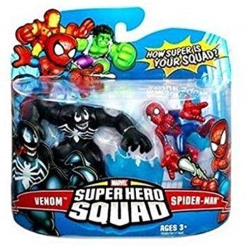 Venom /& Spider-Man action figure Marvel Superhero Squad
