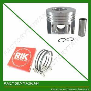 Piston + Ring Kit Set Oversize 85mm (+0.50mm) ISUZU 4LE2 (8-97232-604-0)