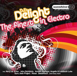 CD-Finest-En-Electro-The-De-DJ-Delight-regal-d-039-Artistes-divers-2CDs