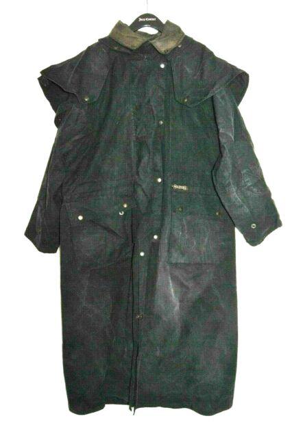 043a505a95df3 Driza-bone Delux Riding Coat Made In Australia 100% Cotton sz L WORN ...