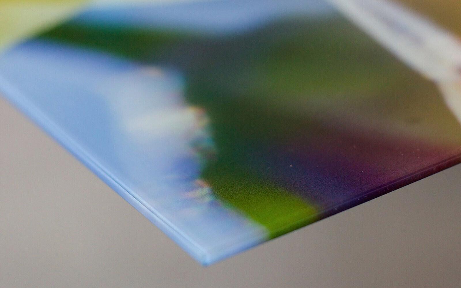 Glas-Bild Wandbild CHROME STYLE BRONZE AG-00296 125 x 50cm
