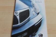 135940) Lancia Lybra + SW Prospekt 08/1999
