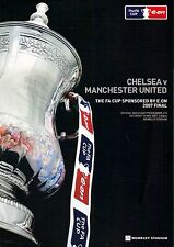 FA CUP FINAL. CHELSEA v MANCHESTER UNITED Programme. Wembley, May 19, 2007