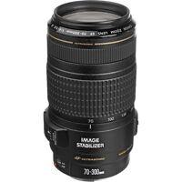 Canon Ef 70-300mm F/4-5.6 Is Usm Zoom Lens For Slr Cameras