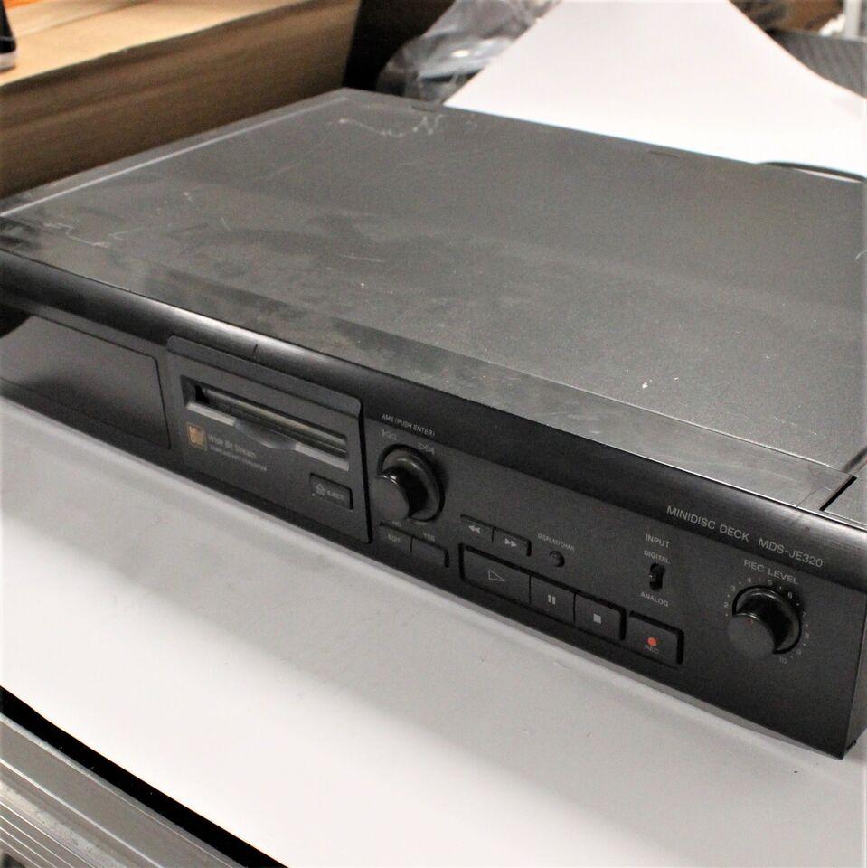 Minidisc afspiller, Sony, MDS-JE320