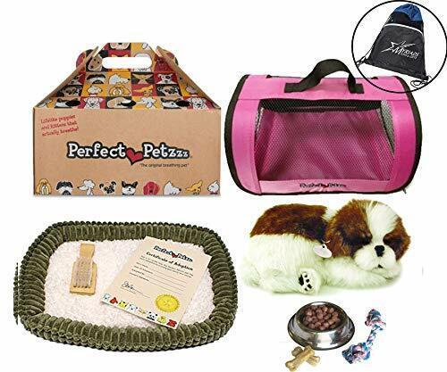 Pink Tote Chew Toy /& Myriads  Bag Perfect Petzzz Shih Tzu Dog Food Treats