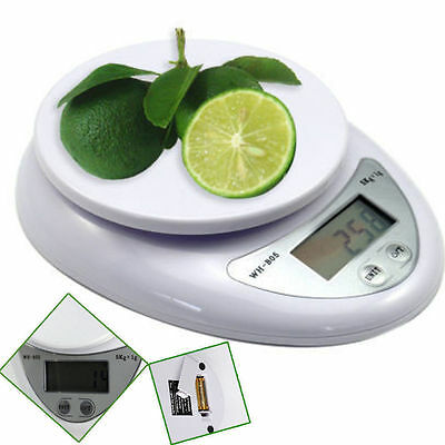 High precision Digital Kitchen Food Scale Electronic Weight Balance 5kg 5000g/1g