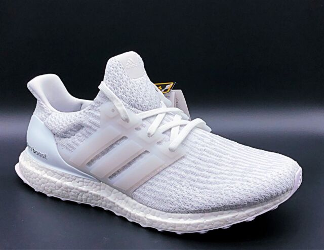 1b132a110c1 adidas Ultraboost 3.0 CONTINENTAL Triple White Men Running Shoes ...