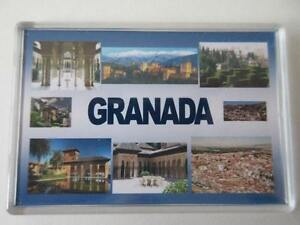 GRANADA-JUMBO-FRIDGE-MAGNET-The-Alhambra-Generalife-Cathedral-and-Royal-Ch
