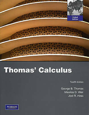 1 of 1 - Thomas' Calculus by Joel R. Hass, Frank R. Giordano, Maurice D. Weir, George B.