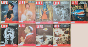 Lot-of-17-1954-LIFE-Basutoland-Rain-Forests-Dandridge-Lollobrigida-Holliday
