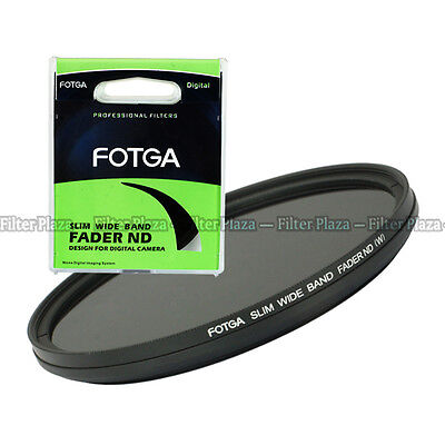FOTGA 77mm Variabler Graufilter Vario ND Fader Filter Verstellbar ND2 to ND400