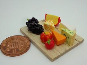 1:12 Scale Dolls House Miniatures Cheese Board D2277 Dolls' House Dolls & Accessories