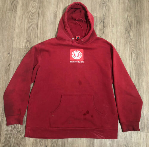 Vintage Element Skateboards Sweatshirt Hoodie Size