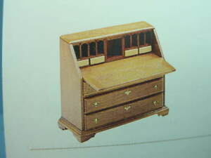 Sideboard Chippendale dollhouse furniture kit Housework 1/12 scale 13017