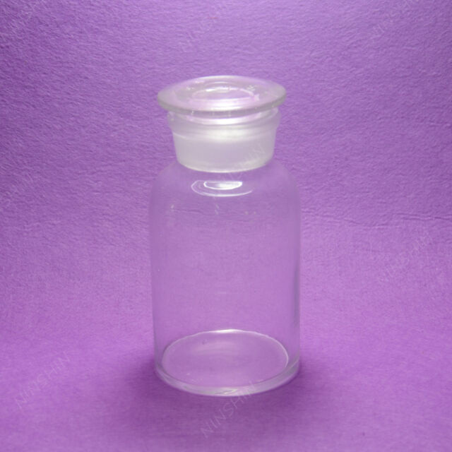 500ml Glass Reagent bottle, wide mouth and ground stopper,lab bottle