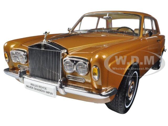 1968 Rolls Royce argento Sombra De Bronce 1 18 Diecast Modelo Coche por Paragon 98205