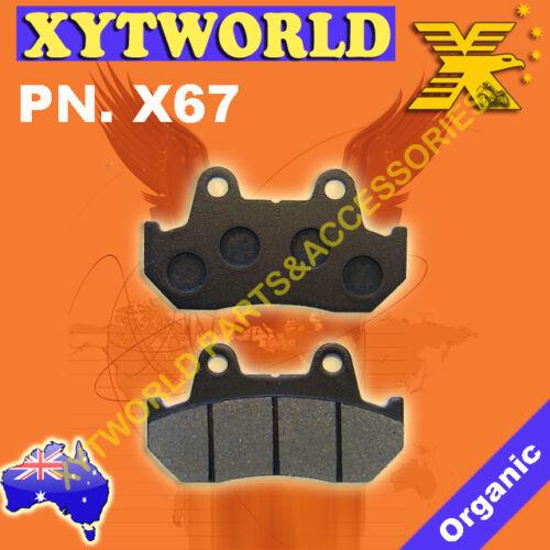 Rear Brake Pads Honda VFR400 VFR 400 ZG//ZH//RG-YA NC21