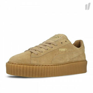 basket puma by rihanna creepers oatmeal