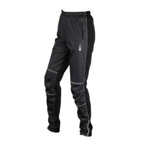 Fleece Thermal Winter Cycling Pants Sports Casual Windproof Trousers 2 Pockets