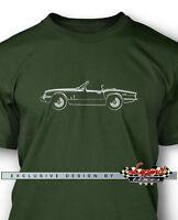 Triumph Spitfire Mkiv 1500 Convertible Men T-shirt - Multiple Colors And Sizes