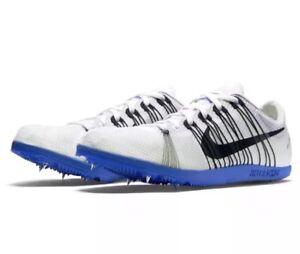 Nike Zoom Matumbo 2 Men s Spikes Track Spikes Shoes 526625 100 White ... 66bde21fc