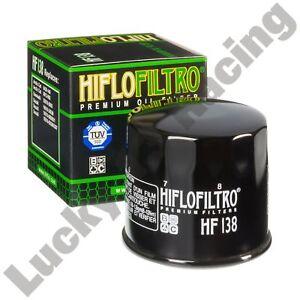 HF138-oil-filter-Hiflo-Filtro-to-fit-Suzuki-DL-GSF-GSR-GSX-GSX-R-GSX-S-SV-VL-VZR