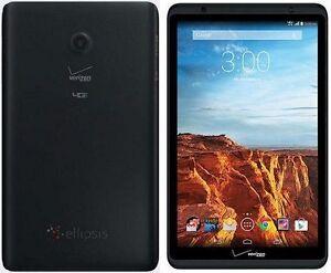 Verizon Wireless Ellipsis 8 QTAQZ3 16GB 8 Inch 4G LTE Tablet Clean ESN Android